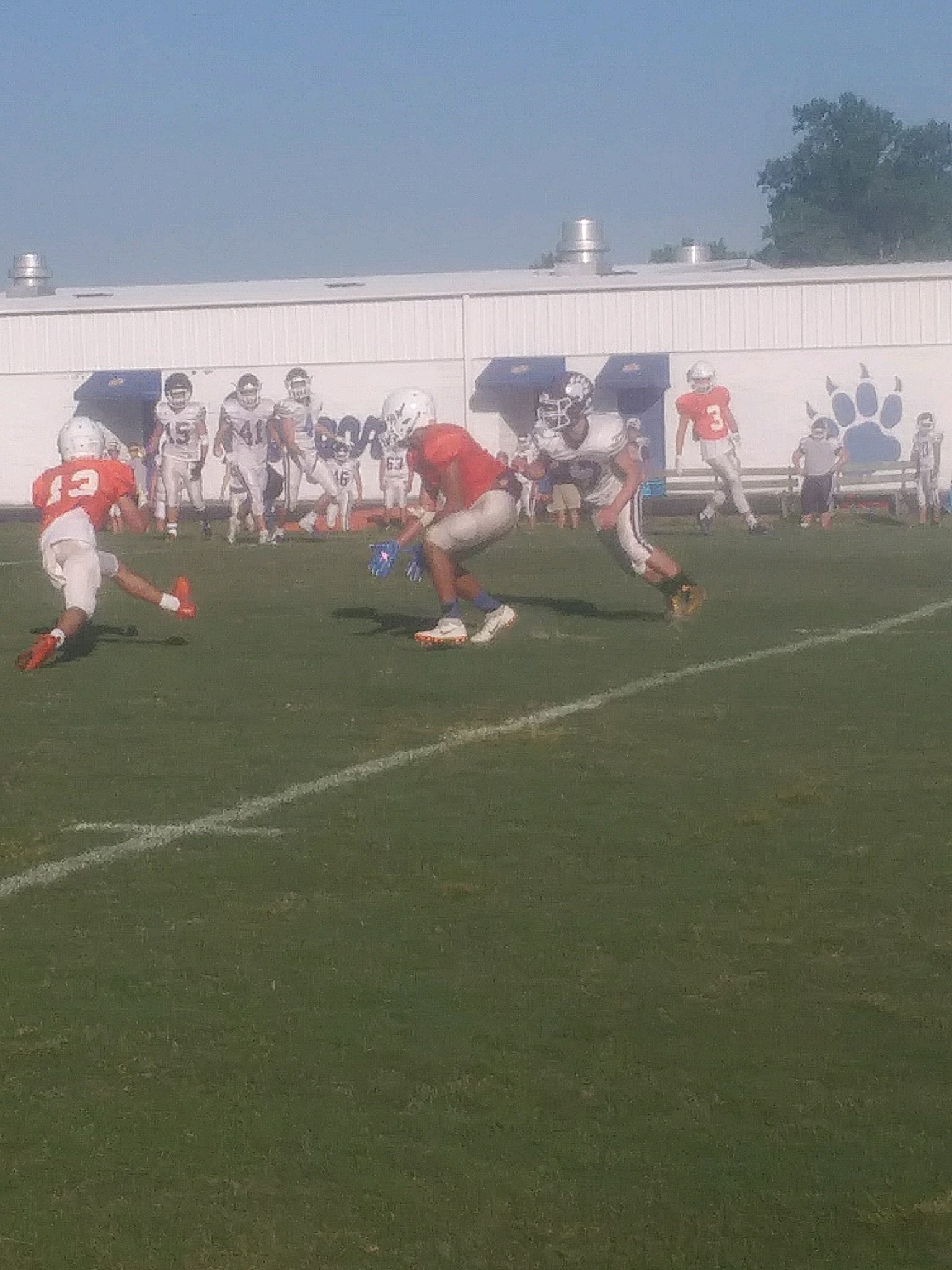Many Cougars play in Sevier County scrimmage – WLAF